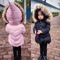 Meninas Casaco de Inverno Crianças Inverno Meninos Casacos Meninas Casaco de Inverno Crianças Outerwear Bebê Dos Desenhos Animados Meninos/meninas Jaqueta de Roupas Infantis