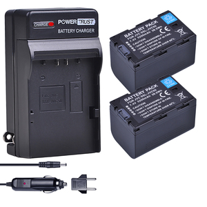 2x 5200mAh SSL JVC50 JVC50 Battery + Charger Kits for JVC SSL JVC70 GY HMQ10  GY LS300  GY HM200  GY HM200U  GY HM250 GY HM600 |Digital Batteries| |  -