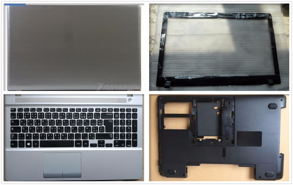 Upper-Bottom-Case-Cover Bezel NP275E5E 300E5E Palmrest For Samsung Np270e5e/Np270e5v/Np275e5e/..