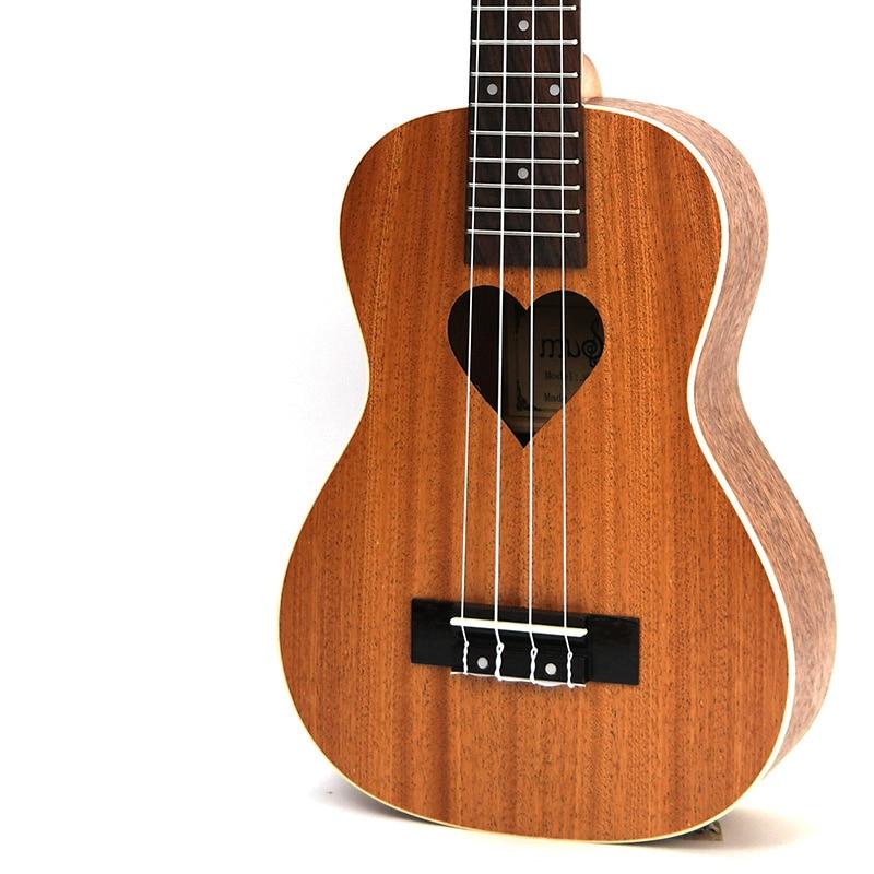 Afanti Music 21 inch small Guitar / Sapele / 21 inch Ukulele (DGA-101) afanti music 23 inch small guitar zebrawood 23 inch ukulele dga 126
