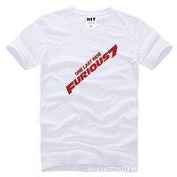 New Movie Furious 7 One Last Ride Printed Mens Men T Shirt T Shirt Fashion 2015