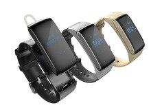 Смарт-Группы Talkband Bluetooth Watch Браслет DF22 Звук Гарнитуры Цифровой Запястье Калорий Шагомер Спортивный Фитнес-Монитор Сна