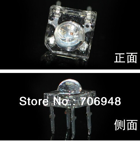 SuperFlux Piranha Water Clear 5MM RGB LED Diode For Light Bulb Common Anode/Cathode