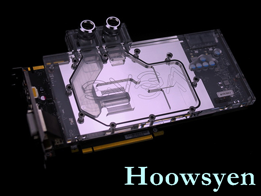 N-EV1080-X EVGA GTX1080 GTX1070 full coverage water-cooled head