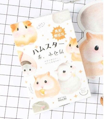 Little Mouse Paper Postcard(1pack=30pieces)