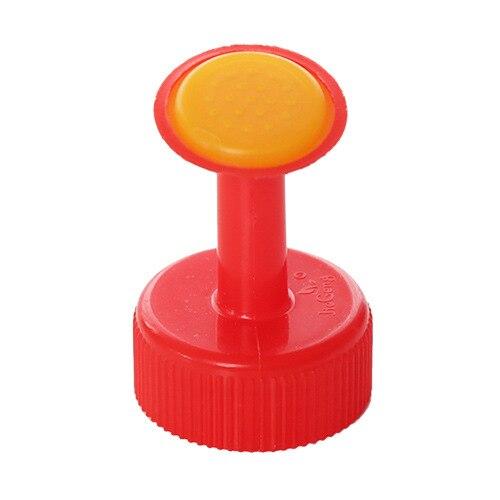 1 шт., портативная пластиковая маленькая насадка для бутылки с водой, сменный распылитель, бытовой полив, цветы, суккуленты, садовые инструменты - Цвет: Красный