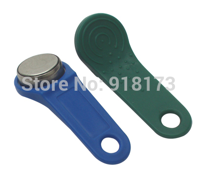 200pcs/lot DS1971-F5 TM card  tm sauna lock card Dallas ibutton touch memory button with handle For guard tour system