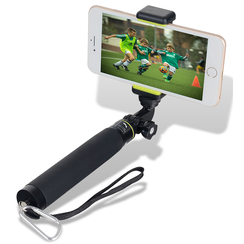 Image 2 - XILETU GE 80T Set 2018 Tripod Monopod Selfie Stick with Bluetooth Remote Control for Android and iphone-in Selfie Sticks from Consumer Electronics