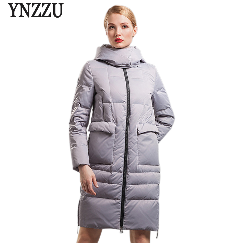 2017 New Winter Women Down Jackets High Quality Casual Thick Warm Hooded Long Wamen Jackets Outwears Snow Parka A242