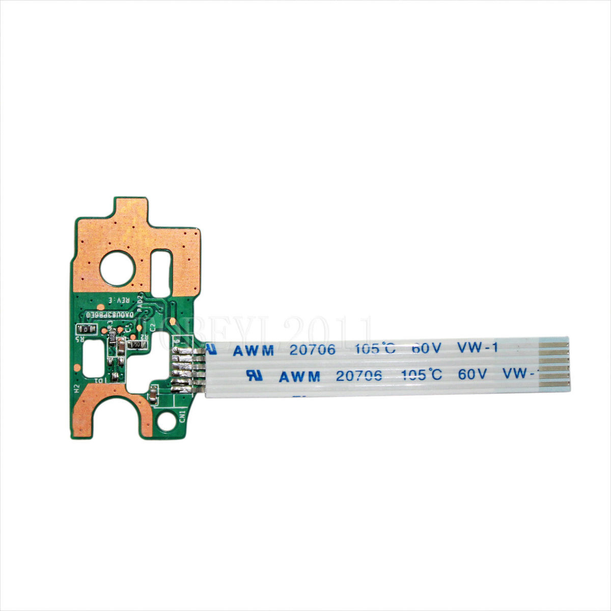 Botton Series Power Switch Button Board For Hp 17-e On/off Daor63pb6d0 720673-001 100% Original Computer & Office