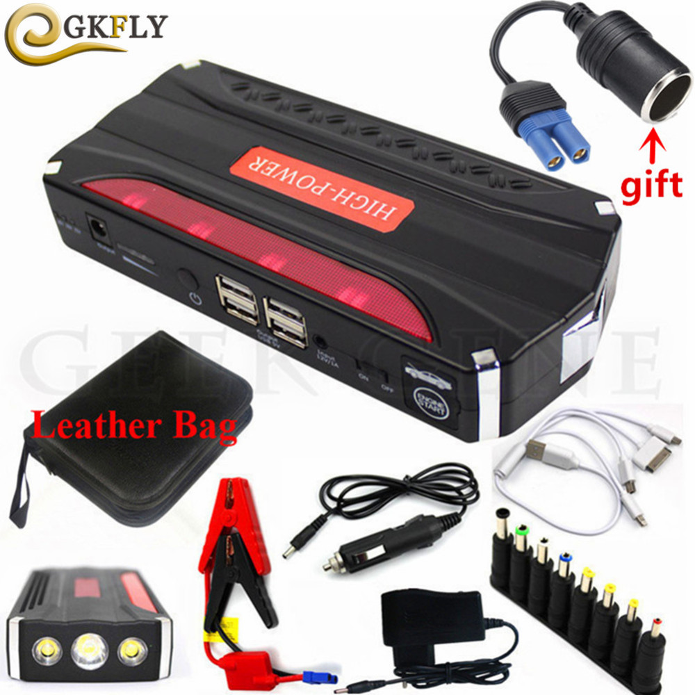 Emergency 12V 600A Car Jump Starter Portable Starting Device Power Bank Car Charger For Car Battery