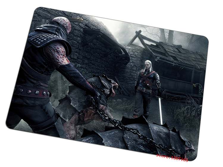 9 size cool The Witcher mouse pad Natural rubber large pad to mouse computer mousepad Thickened gaming mouse mats to mouse gamer