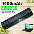 11.1V  4400mAH  Battery For dell  Vostro 1014 1015 A840 A860 312-0818 451-10673 F286H F287F F287H G069H R988H