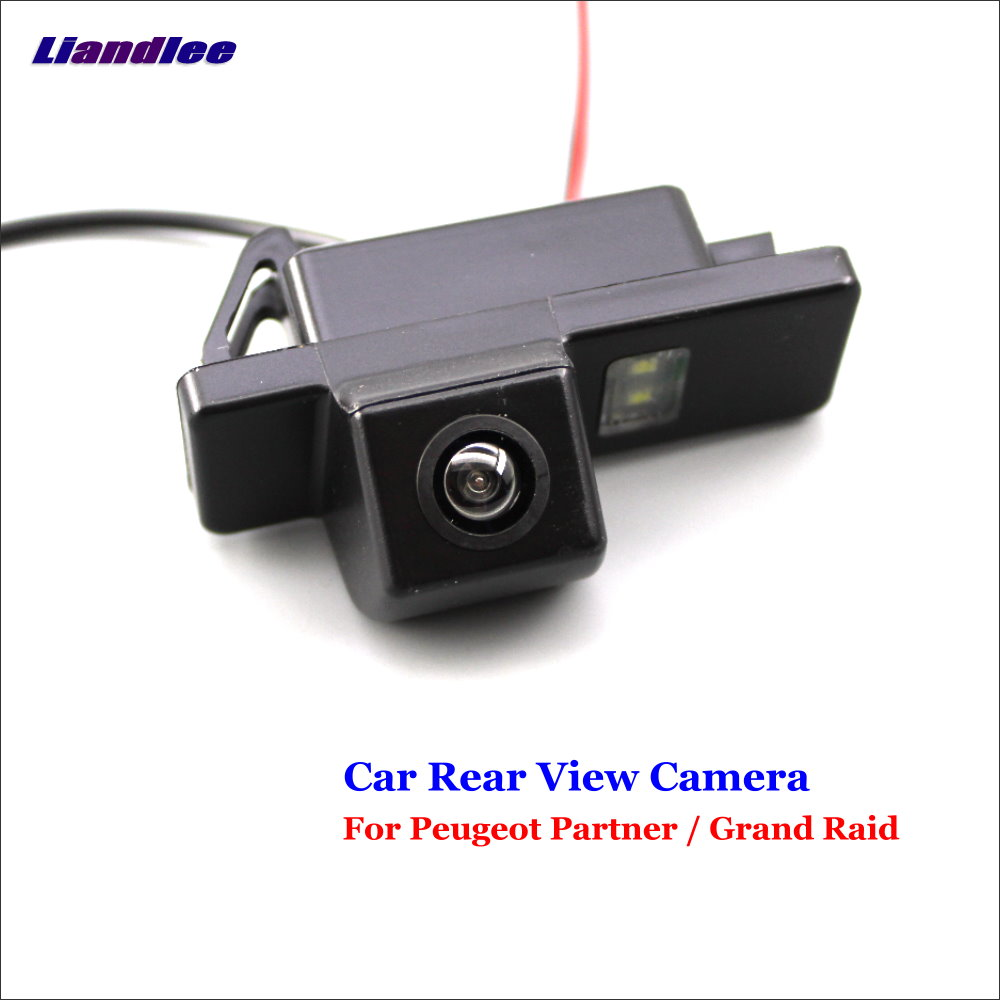 AUTO CAM For Peugeot Partner / Grand Raid Car Reverse Parking Camera Backup Rear View Camera / SONY CCD Integrated Nigh Vision