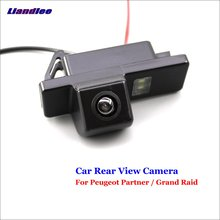 Liandlee For Peugeot Partner / Grand Raid Car Reverse Parking Camera Backup Rear View Camera / SONY CCD Integrated Nigh Vision sony hd ccd special car rear view reverse backup camera reversing for peugeot 206 207 306 307 308 406 407 5008 partner tepee