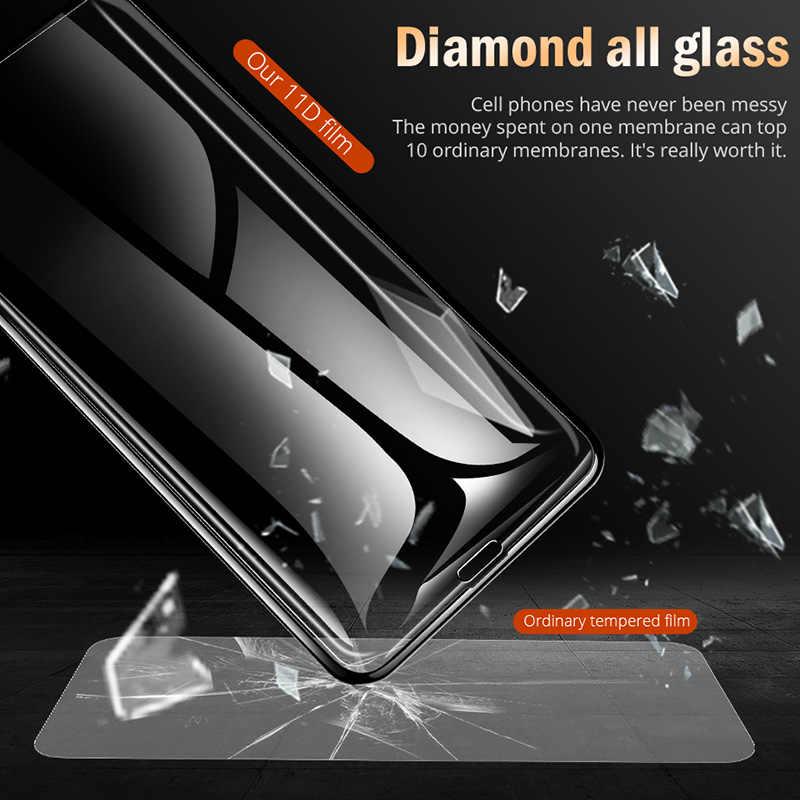 35D изогнутый край Полное покрытие защитное стекло на iPhone 7 8 6 6S Plus закаленное защитное стекло для X XR XS Max стеклянная пленка