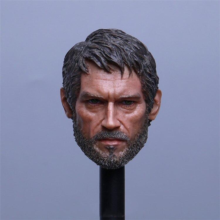 купить The Last Survivor 1/6 Joel Head Carved Soldiers Head Carved Model Fit 12