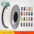 Branco 3D Impressora de Filamento PLA 1.75mm material de 1 KG