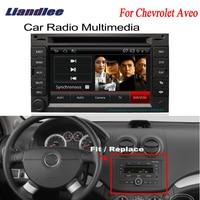 Liandlee 2 дин gps для Chevrolet Aveo 2002 ~ 2006 Android радио Нави навигации Карты dvd плеер HD Экран OBD2 Камера ТВ