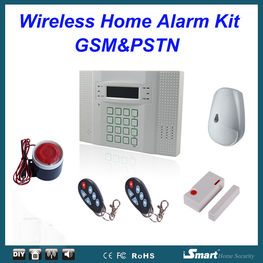 где купить Hot selling in Cyprus/France/Sweden/Italy Wireless Wired GSM PSTN Tel Call Intruder Alarme Maison Pet Immunity, Free Shipping по лучшей цене