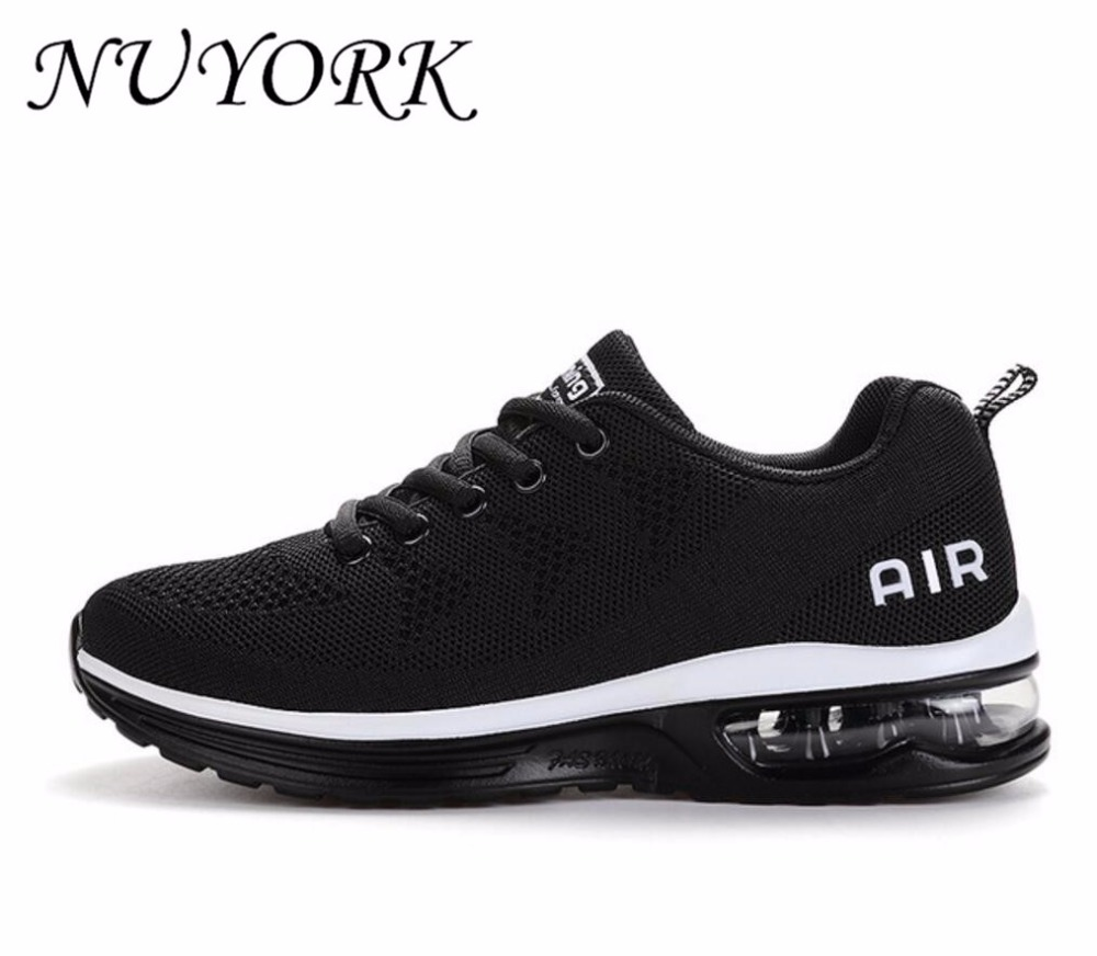NUYORK New Listing Hot sales Breathable Fly line air men and women running shoes sneakers lovers sports shoes 835
