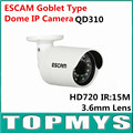 ESCAM HD 720P P2P Goblet Type Dome IP Camera QD-310 ONIVF CCTV Camera Home Security ipcamera Smart Phone View 24pcs IR LED