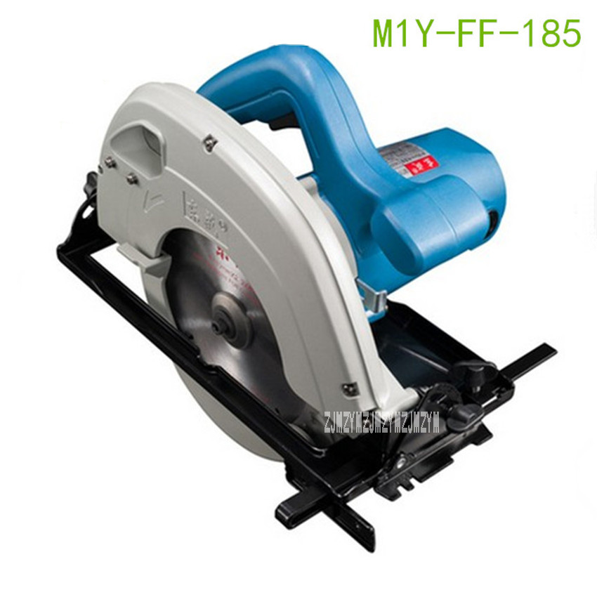 New Arrival Electric Circular Saw M1Y-FF-185 Woodworking Saws 7 inch Portable Saw Cutting Machine Power Tools 220V/50Hz 1100W