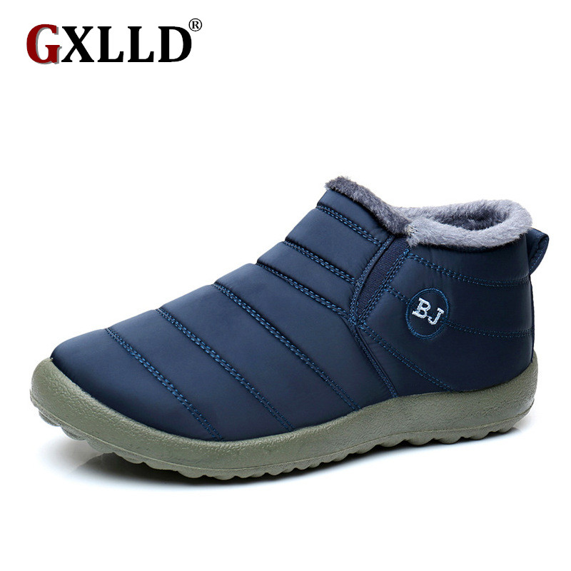 GXLLD Women Winter Shoes Color Snow Boots Waterproof size