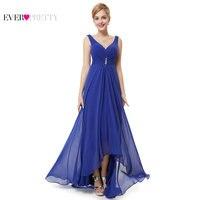 Clearance Sale Ever Pretty Women Elegant Bridesmaid Dresses Chiffon A Line V Neck Sleeveless Formal