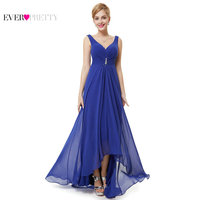 Clearance Sale Ever Pretty Women Elegant Bridesmaid Dresses Chiffon A Line V Neck Sleeveless Formal