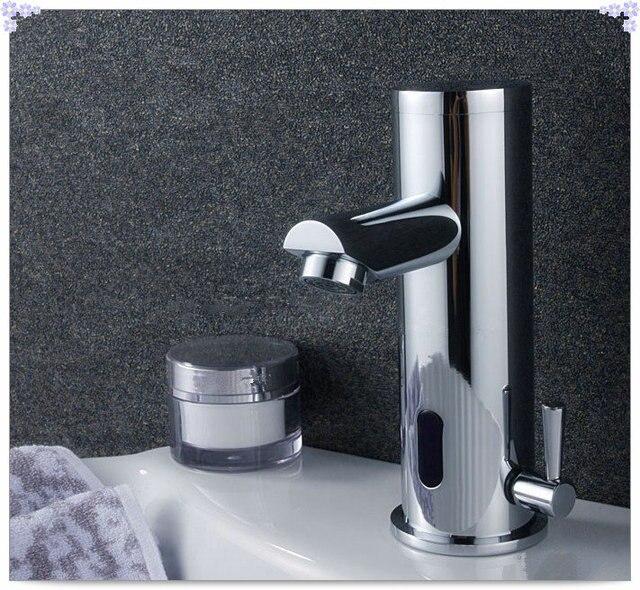 Automatic Sensor Faucet Hands Free basin tap Hot cool mixer torneira ...