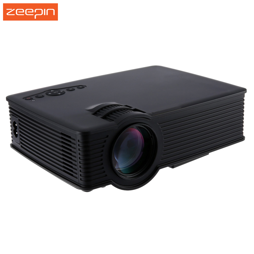Portable mini gp 9 lcd projector full hd 2000 lumens video for Highest lumen pocket projector