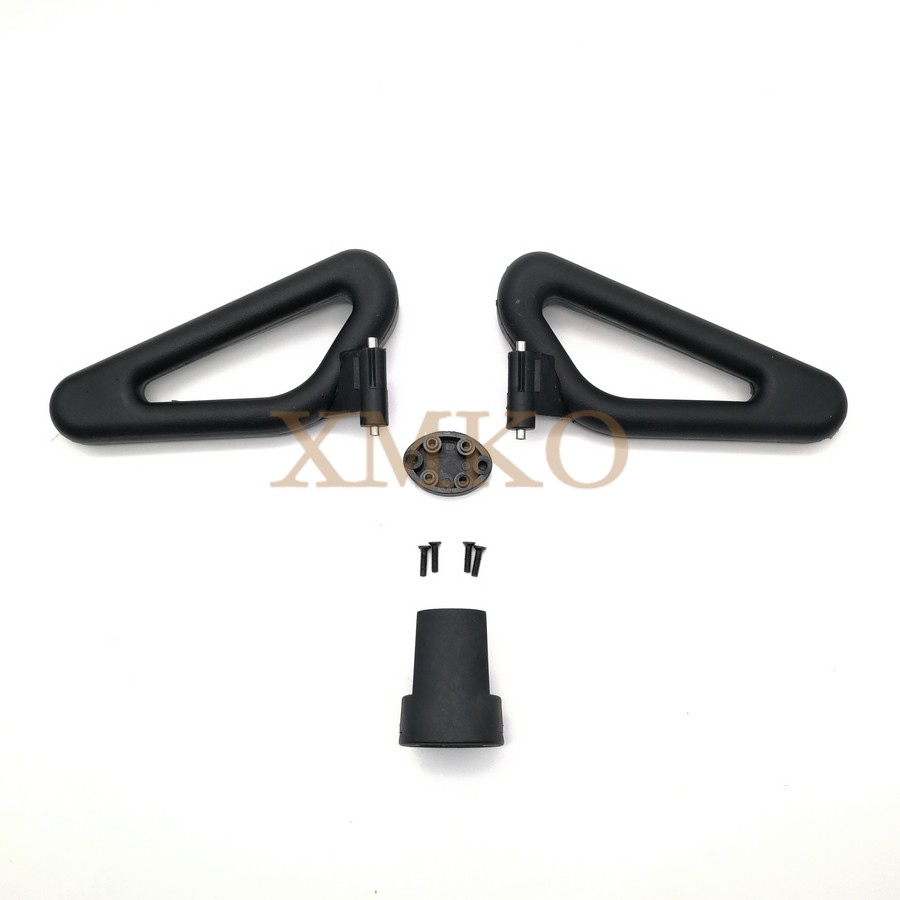 PU Handlebar For Xiaomi Mini Extended Aluminum Long Control Handle NINEBOT Segway MiniPRO Balance Scooter Joystick 2in1