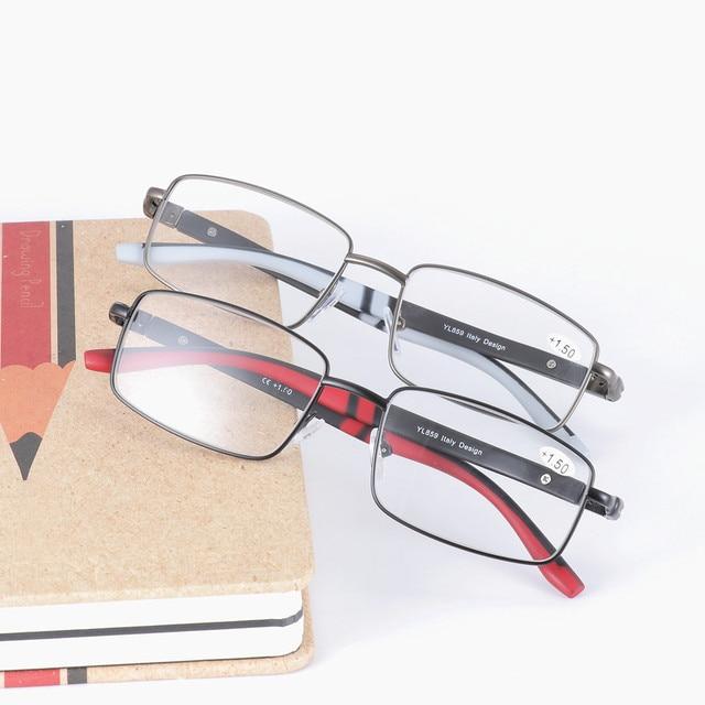8b22c7cf1fcf Wholesale 2018 new metal sports aluminum alloy presbyopic glasses resin  lenses