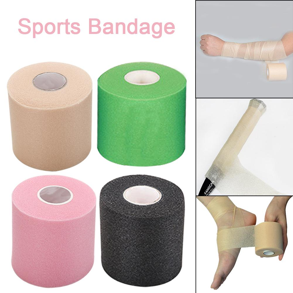 7cm * 27.5cm Sports Tape Muscle Care Cotton Adhesive Muscle Bandage Treatment Tape Strain Damage Support Muscle Elastic Bandage