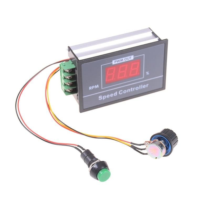 6V 12V 24V 30A PWM DC Motor Speed Controller CCM5D Digital Display LED Motor Controller Speed Regulator 1PC