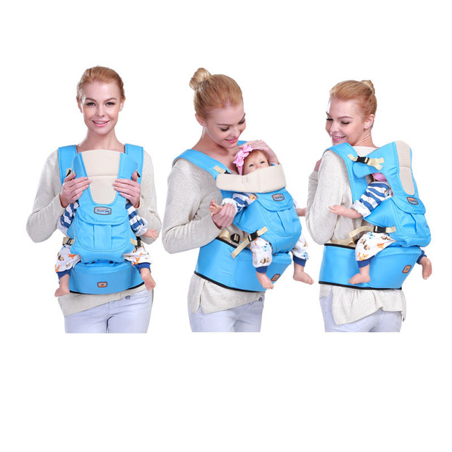 Sturdy Multi-functional ergonomic baby carrier