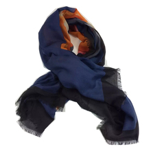 New Women Scarf 55″ 140cm Kerchief Shawl Occident Style Animal Deer Patten Cashmere High Quality Hot Sale SWJ164306