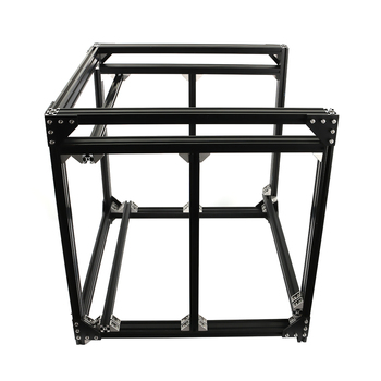 BLV mgn Cube Aluminum 2040 Black Profile Extrusion Frame Kit Hardward Parts Machine Parts For DIY CR10 3D Printer Z Height 365MM