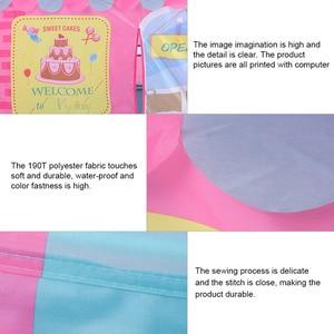 Image 4 - ילדים צעצועי אוהלי ילדים לשחק אוהל ילד ילדה נסיכת טירה מקורה חיצוני ילדים בית לשחק כדור בור בריכת תיאטרון עבור ילדים