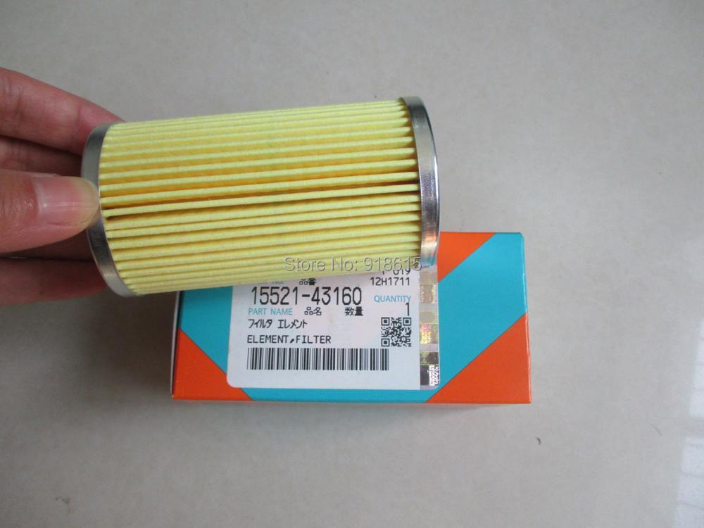 15521 43160 FUEL FILTER TAIYO TDK20000 TDK27000 FILTER KUBOTA ENGINE GENERATOR PARTS GENIUNE