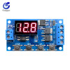 DC 12V 24V Dual MOS LED Digital Time Delay Relay Trigger Cycle Timer Delay Switch Circuit Board Timing Control Module 4 Switch