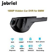 Jabriel 1080 P Wifi Nascosta registratore dell'automobile dvr dash cam telecamera per la Retromarcia per bmw 1,2, 3,5, 7 serie, X1/X3/X5/X6 E46 E90 F30 E39 E60 F10