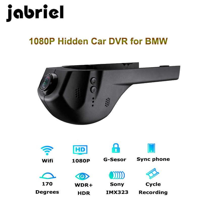 Jabriel 1080P Wifi скрытый Автомобильный регистратор dvr видеорегистратор камера заднего вида для bmw 1,2, 3,5, 7 серии, X1/X3/X5/X6 E46 E90 F30 E39 E60 F10