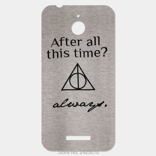 Harry Potter Quotes Patterned Mobile Phone Case For Htc Desire 510
