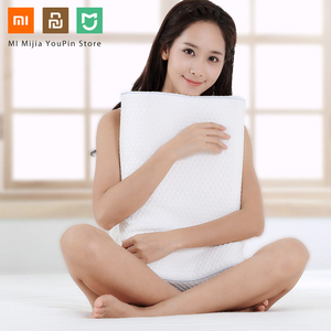 Image 2 - Original Xiaomi 8H Tri curved Cool Feeling Slow Rebound Memory Cotton Pillows H1 Super Soft Antibacterial Neck Support Pillows