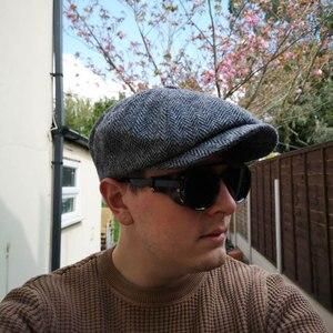 Image 2 - 2019 החדש רטרו וינטג עגול מקוטב פאנק Steampunk משקפי שמש לגברים עור צד מגן זכר שמש משקפיים PL1122
