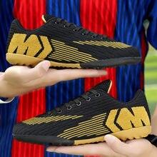 Мужские футбольные бутсы для подростков Дышащие с шипами tf