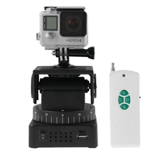 "Original Zifon YT-260 1/4"" Screw Remote Control Motorized Pan Tilt for Gopro HD Xiaomi yi DLSR Action Cameras Accessories"