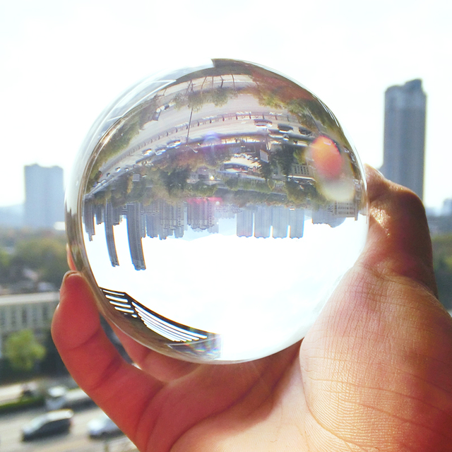 40mm crystal ball crystal ball photography hot-fix crystal  60mm 80mm Various sizes can be customized